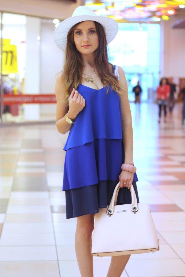 stylizacja z sukienka i kapeluszem (1)