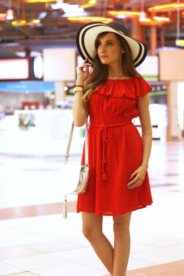 stylizacja z sukienka i kapeluszem (3)