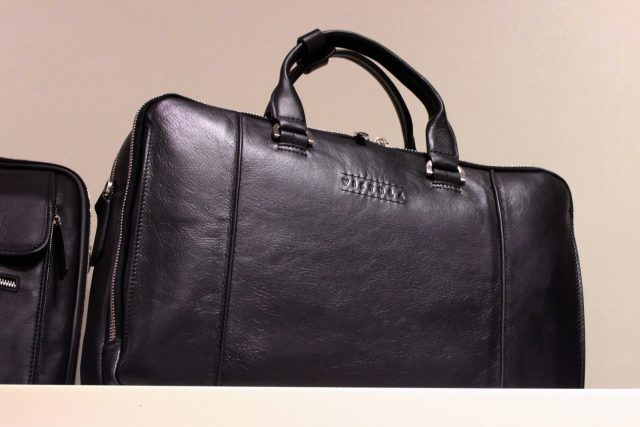 Skórzana torba męska (Morrow, 849 zł)
