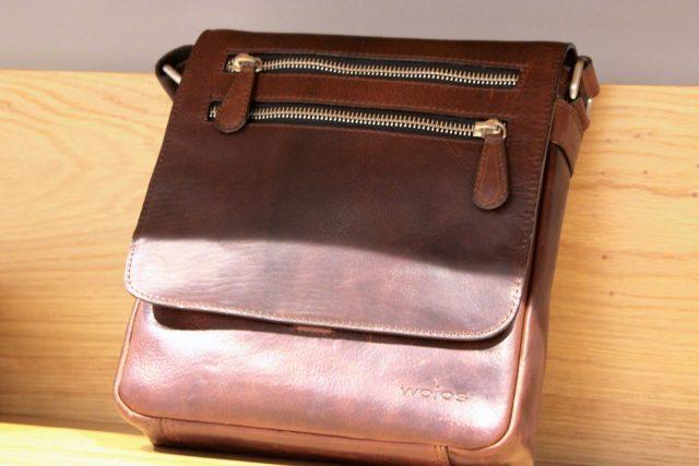 Skórzana torba męska Wojas (399 zł)