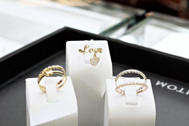 Jubitom, złote pierścionki ok. 585 zł