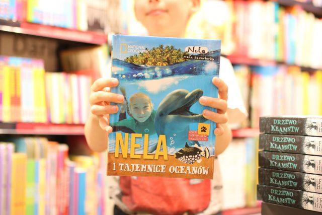 dlaczego warto czytać dzieciom? - Nela i tajemnice oceanów