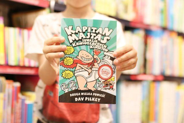 dlaczego warto czytać dzieciom? - Kapitan Majtas