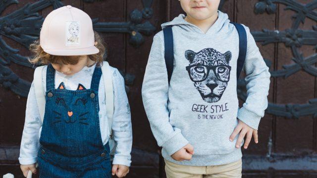 wygodne ubrania dla dzieci do szkoly