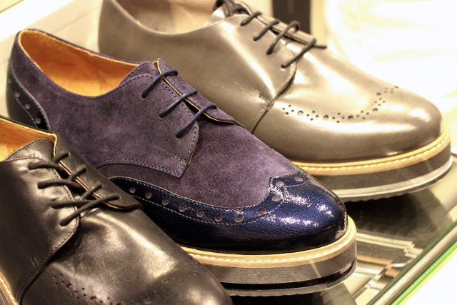 buty oksfordki venezia na jesień