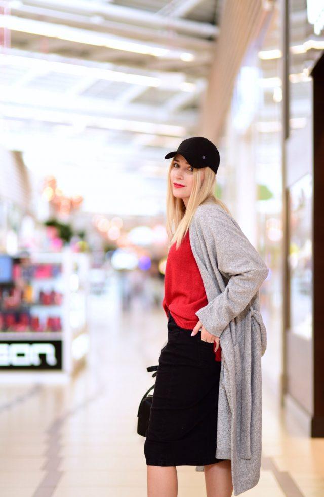 jesienna stylizacja oversize blogerka