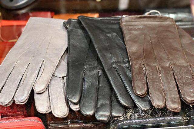 skórzane rękawiczki męskie