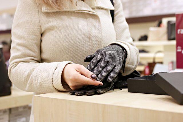 rękawiczki skórzane dla mężczyzny