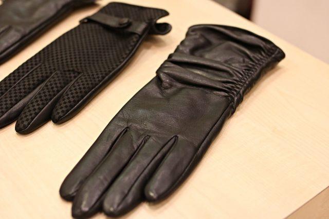rękawiczki skórzane damskie Wojas, 179 zł
