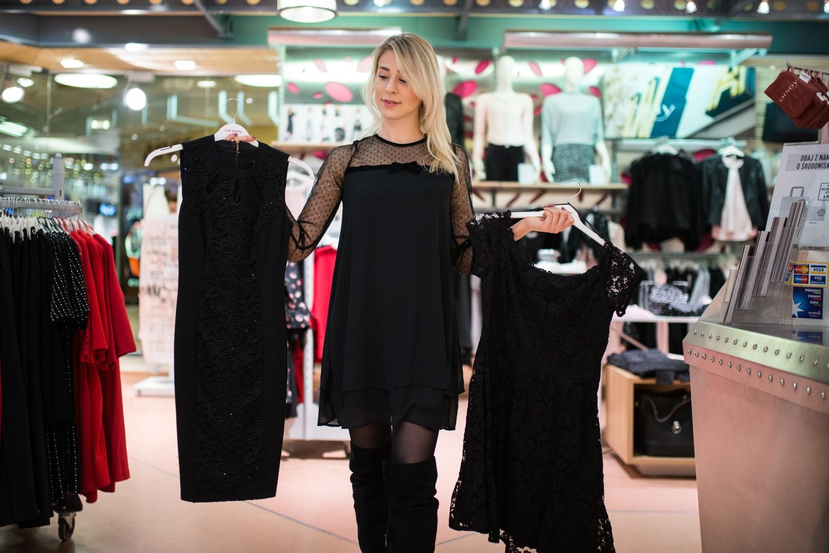 Mała czarna, czyli gdzie szukać idealnej czarnej sukienki na Sylwestra?