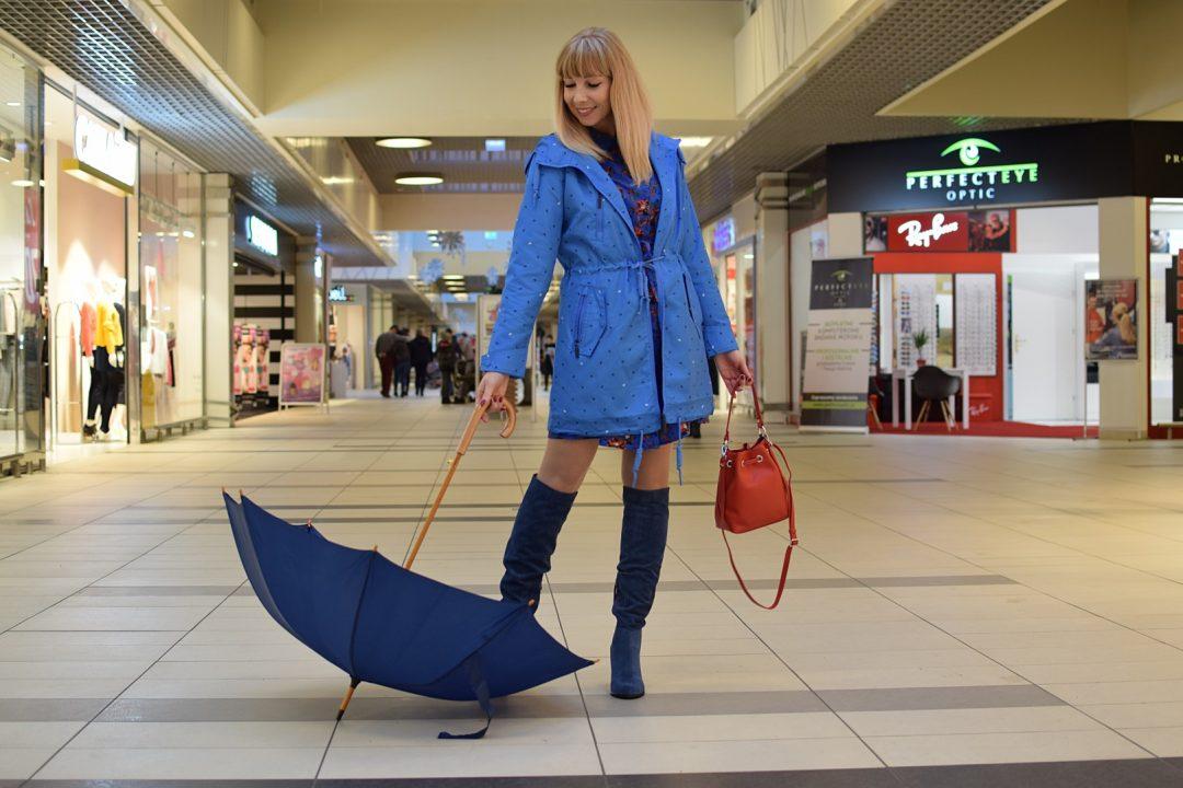 damska kurtka przeciwdeszczowczy płaszcz