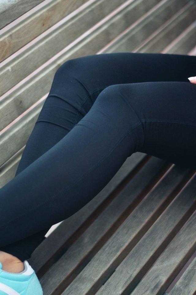 stylowe legginsy na siłownię