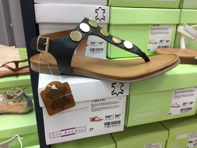 modne sandały na lato