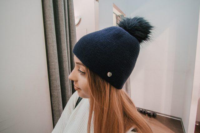 czapka damska jesienna