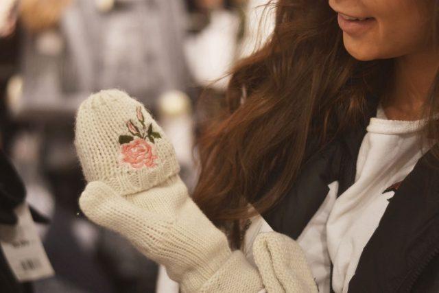 rękawiczki zimowe bez palców