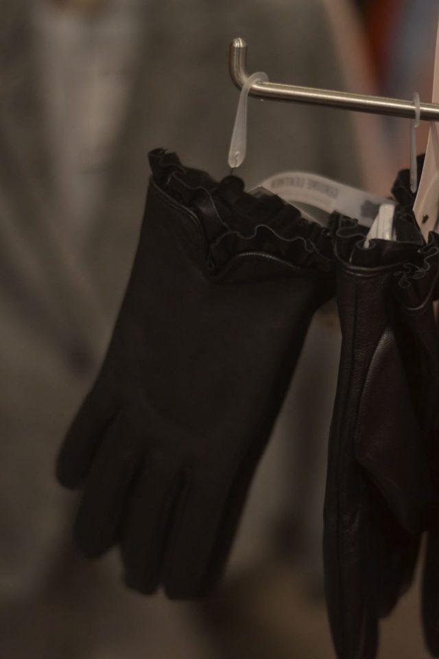 rękawiczki damskie skórzane