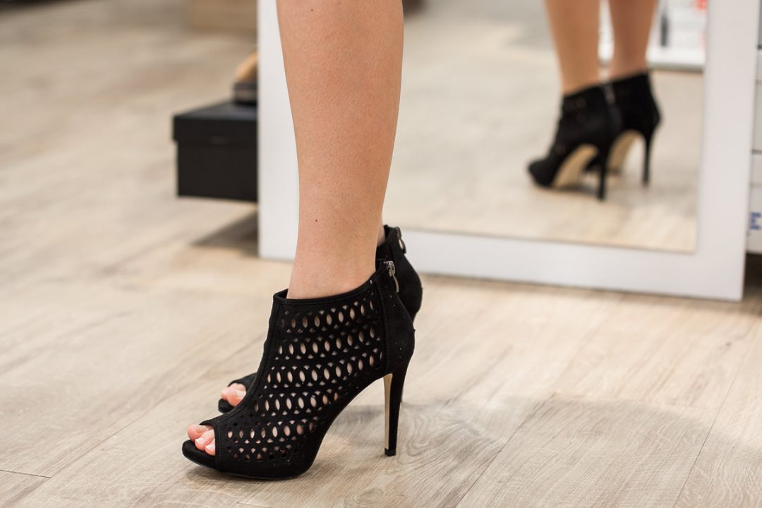 ażurowe buty na sylwestra