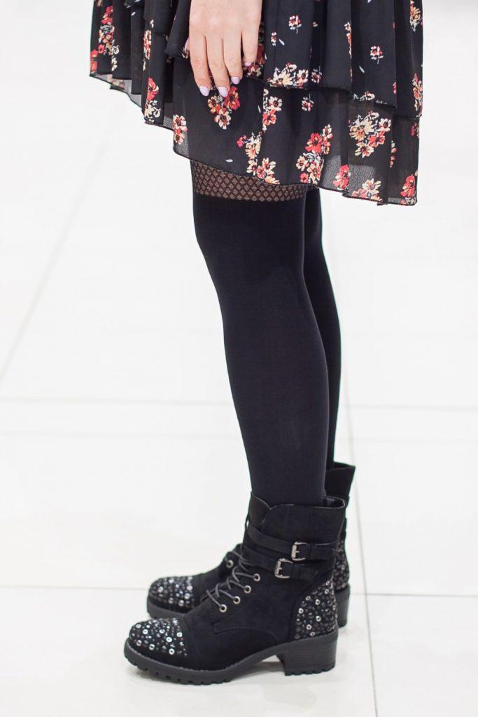 rockowe buty na sylwestra