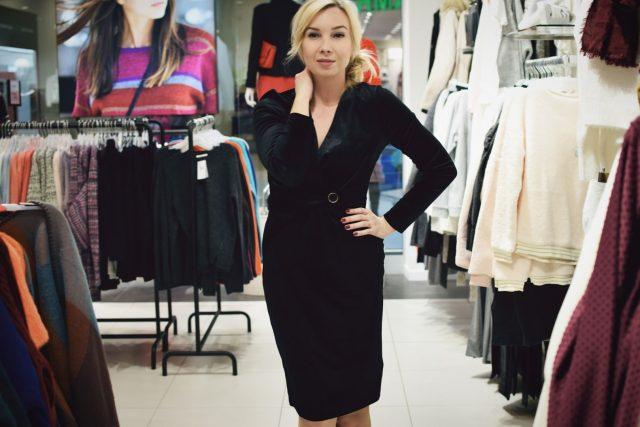 mała czarna sukienka na wigilie