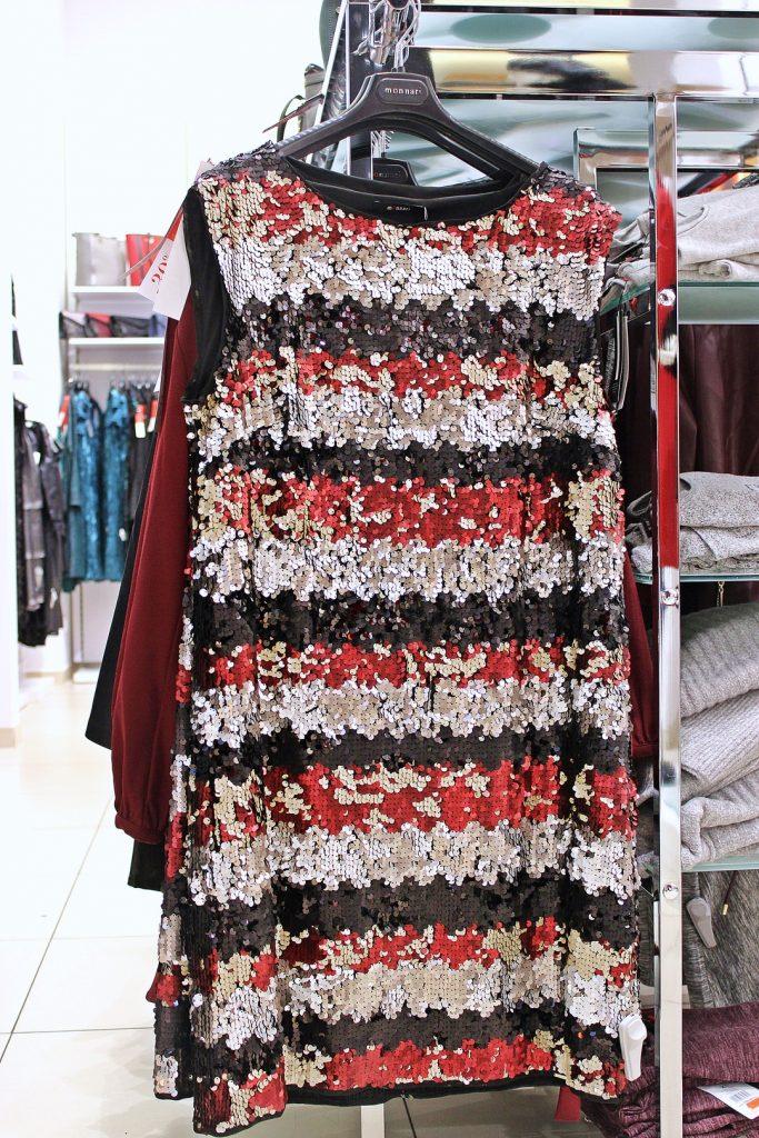 sukienka na sylwestra w cekiny