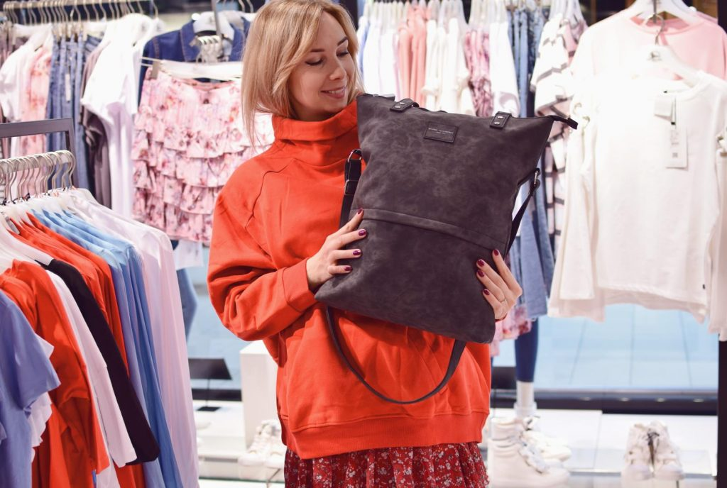 duża torba na wiosnę shopperka