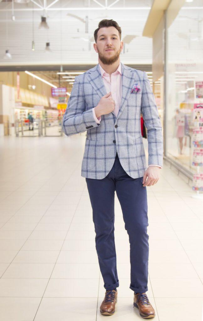 elegancka meska stylizacja do pracy - moda meska