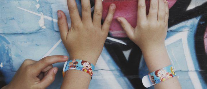 opaska niezgubka na rękę dziecka