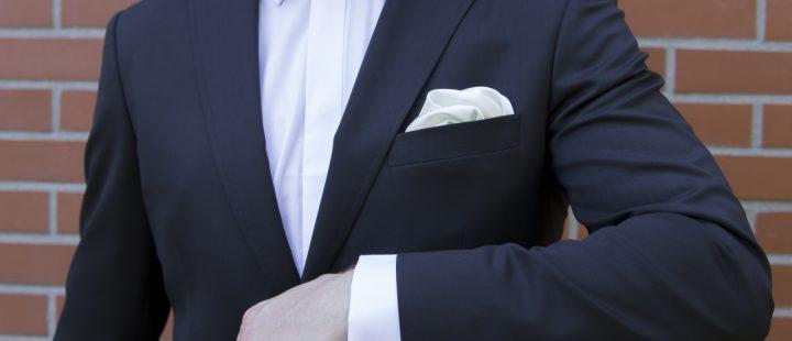 garnitur męski ślubny