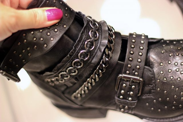 buty mokasyny z ćwiekami