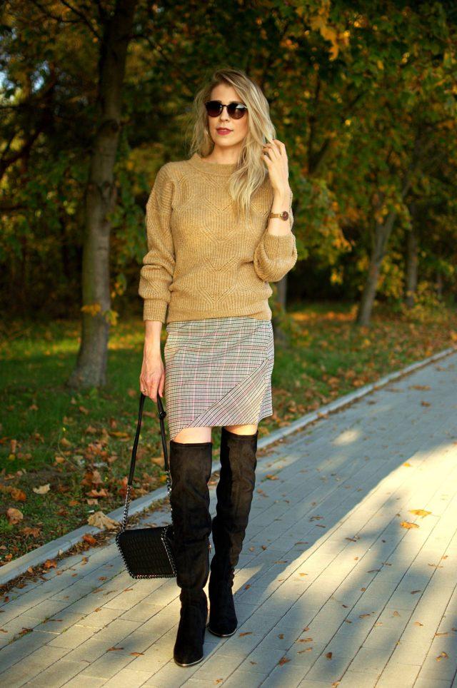 jesienna stylizacja damska