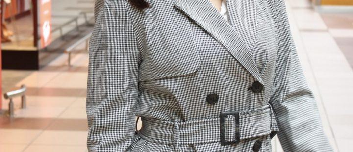 jesienny płaszcz przejściowy