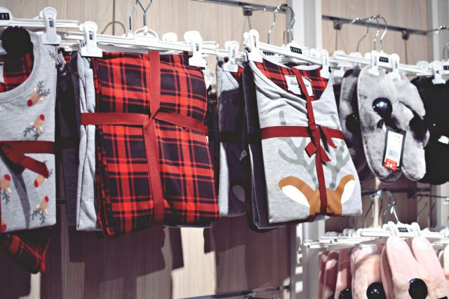 świąteczna piżama na prezent