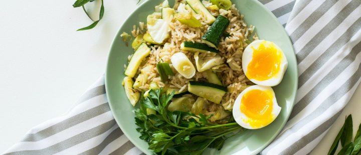 obiad z ryżem