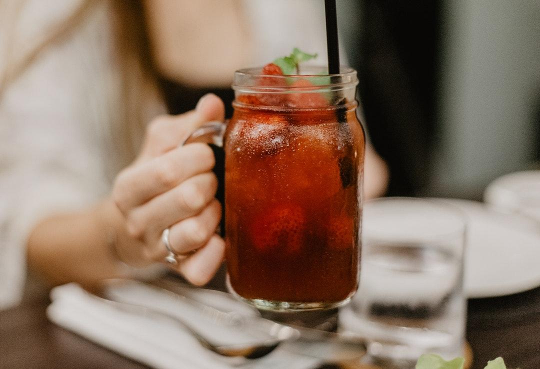 domowy napój orzeźwiający