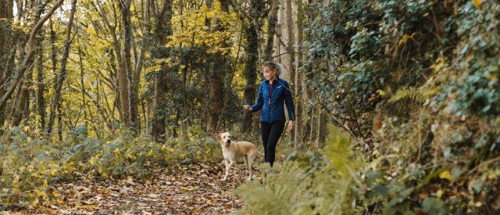 spacer z psem a koronawirus