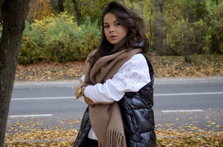 Swetry, kurtki i płaszcze oversize – modne damskie stylizacje