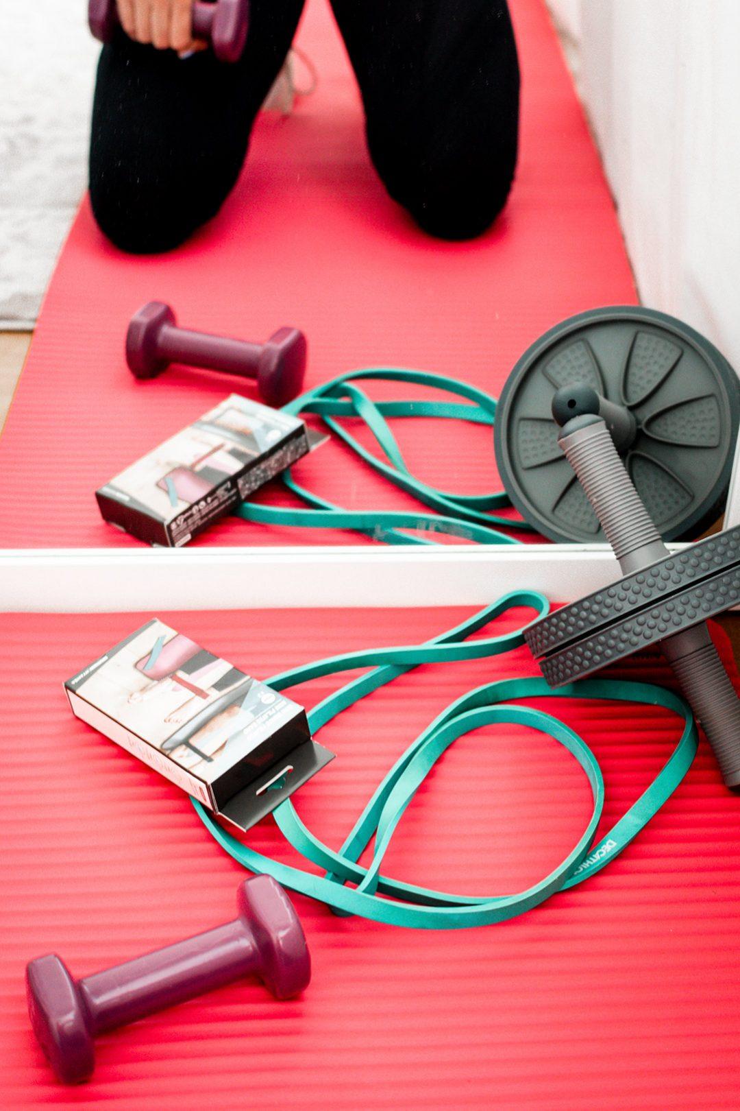 wałek guma do ćwiczeń