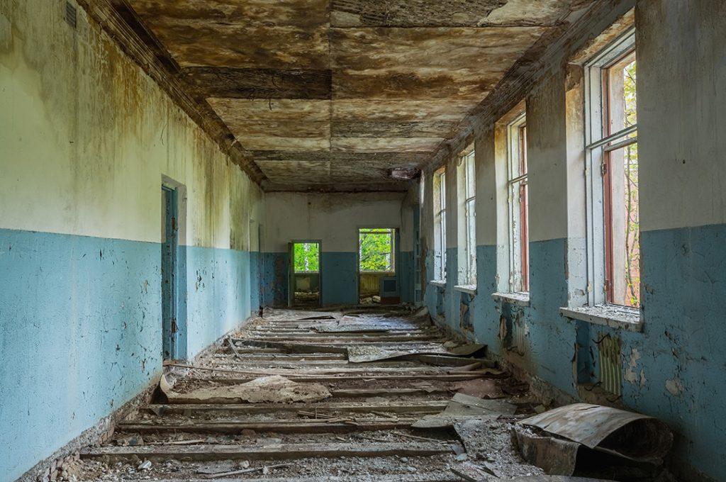 opuszczona szkola
