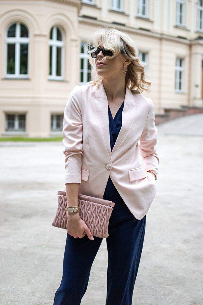 rozowa marynarka