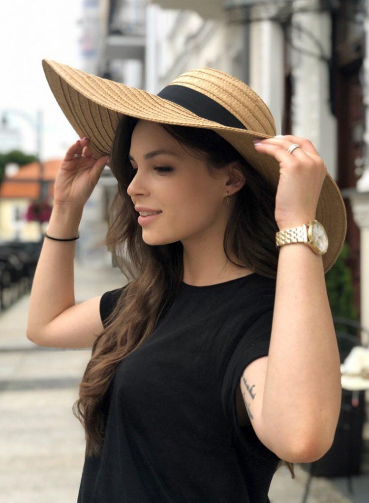 kapelusz stylizacja