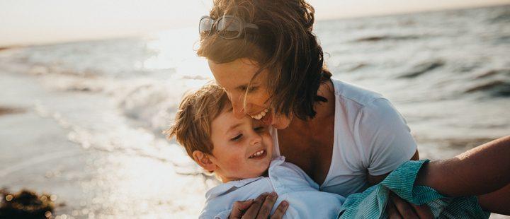 mama z synem